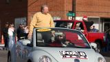 Rich Brenner in King Christmas Parade (Credit: Lisa Byerly Earley)