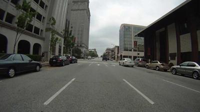 Greene Street in Downtown Greensboro