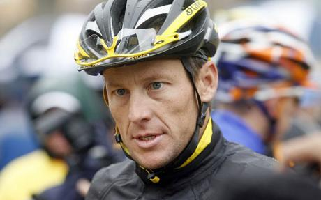 Lance Armstrong (Source: The Associated Press)