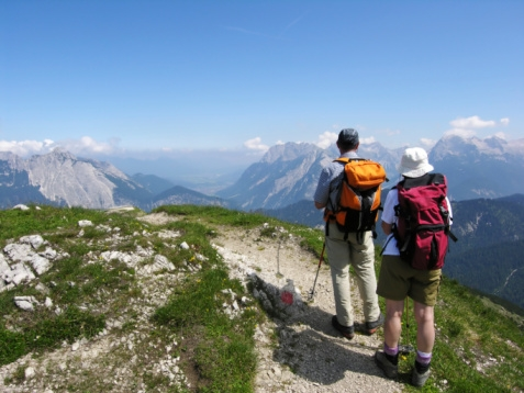 Backpacking, Hiking, Mountains