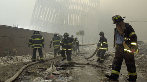 9/11 Firefighters (AP Photo)