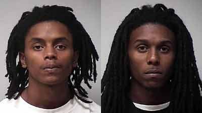 From left to right: Isaac Sylvester Maynard & Airan Devon Maynard (Greensboro Police Dept.)