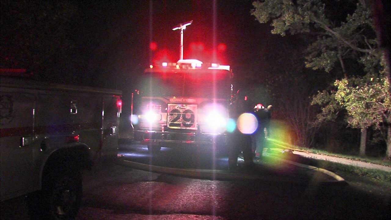 Kernersville house fire (WGHP)
