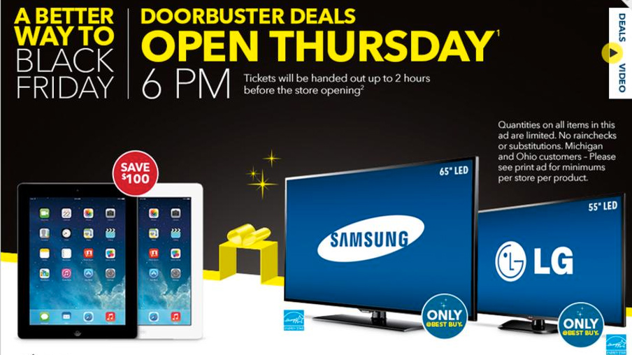 View The Best Buy 2013 Black Friday Ad Myfox8 Com