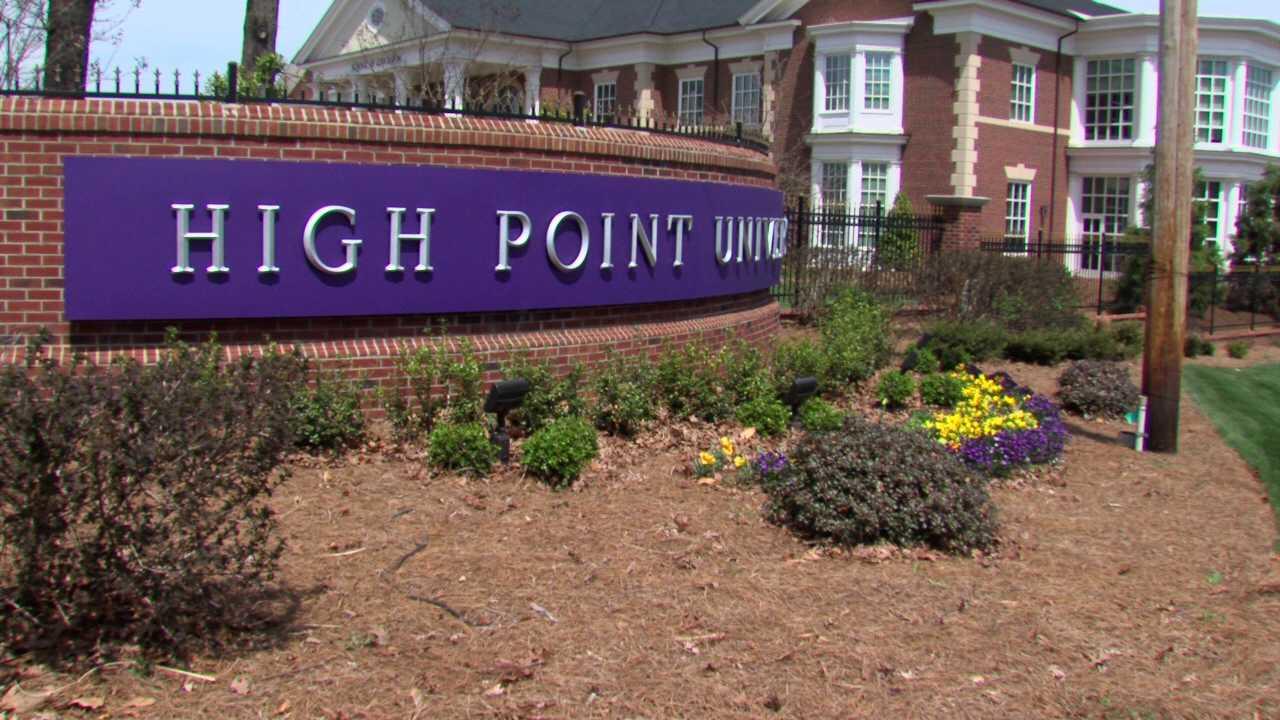 High Point University (WGHP file photo)