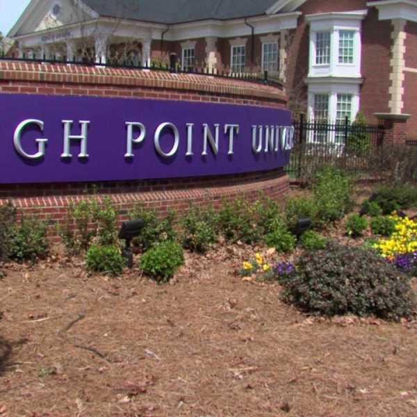 High Point University (WGHP file photo)
