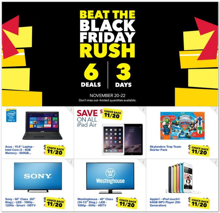 View The Best Buy Black Friday Ad For 2014 Myfox8 Com