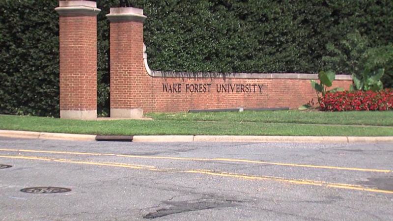 Wake Forest University addresses antebellum history, renaming Wingate Hall to 'May 7, 1860 Hall'