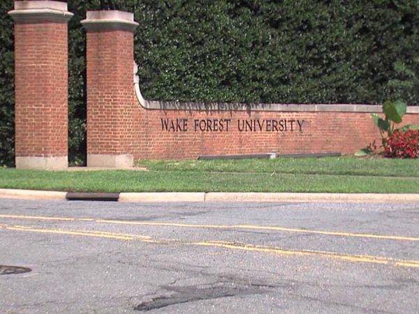 Wake Forest University (File, WGHP)