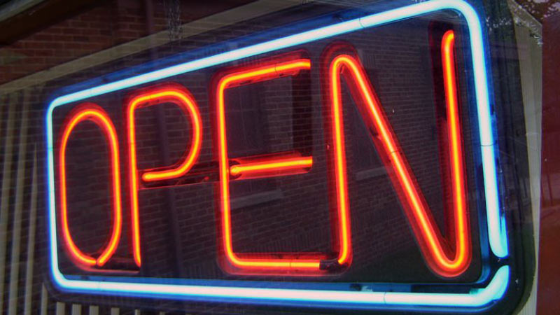 Open sign (Stock image)
