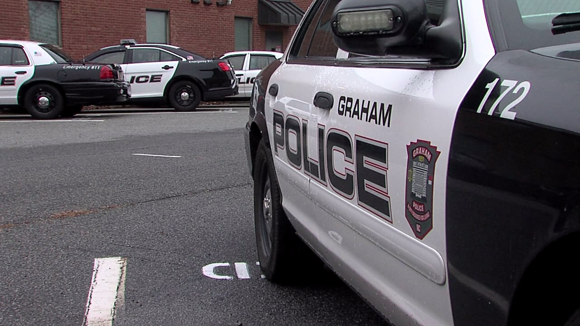 Graham police patrol car (WGHP file photo)