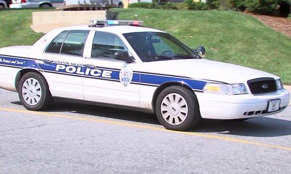 Winston-Salem police car. (WGHP file photo)