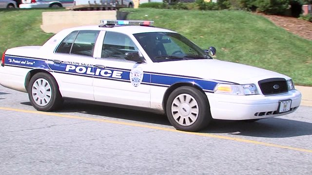 Winston-Salem police car. (WGHP file photo)