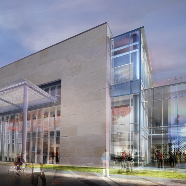 Artist's rendering (Credit: Steven Tanger Center for Performing Arts)