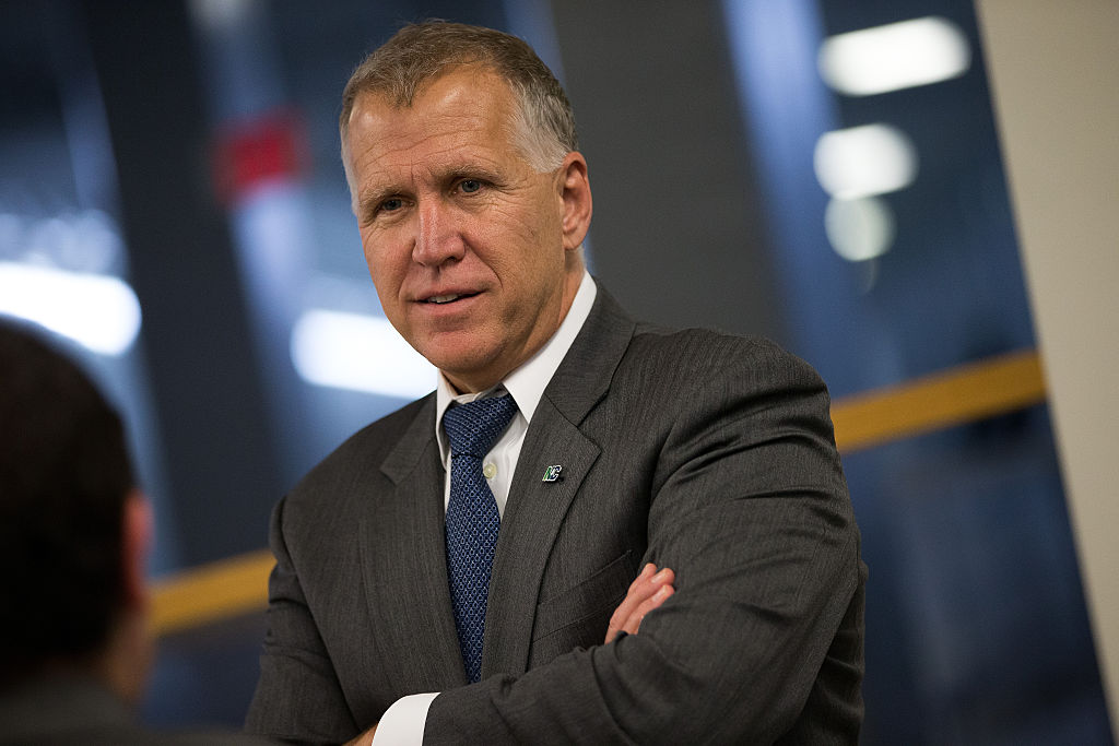 Thom Tillis (Photo by Drew Angerer/Getty Images)