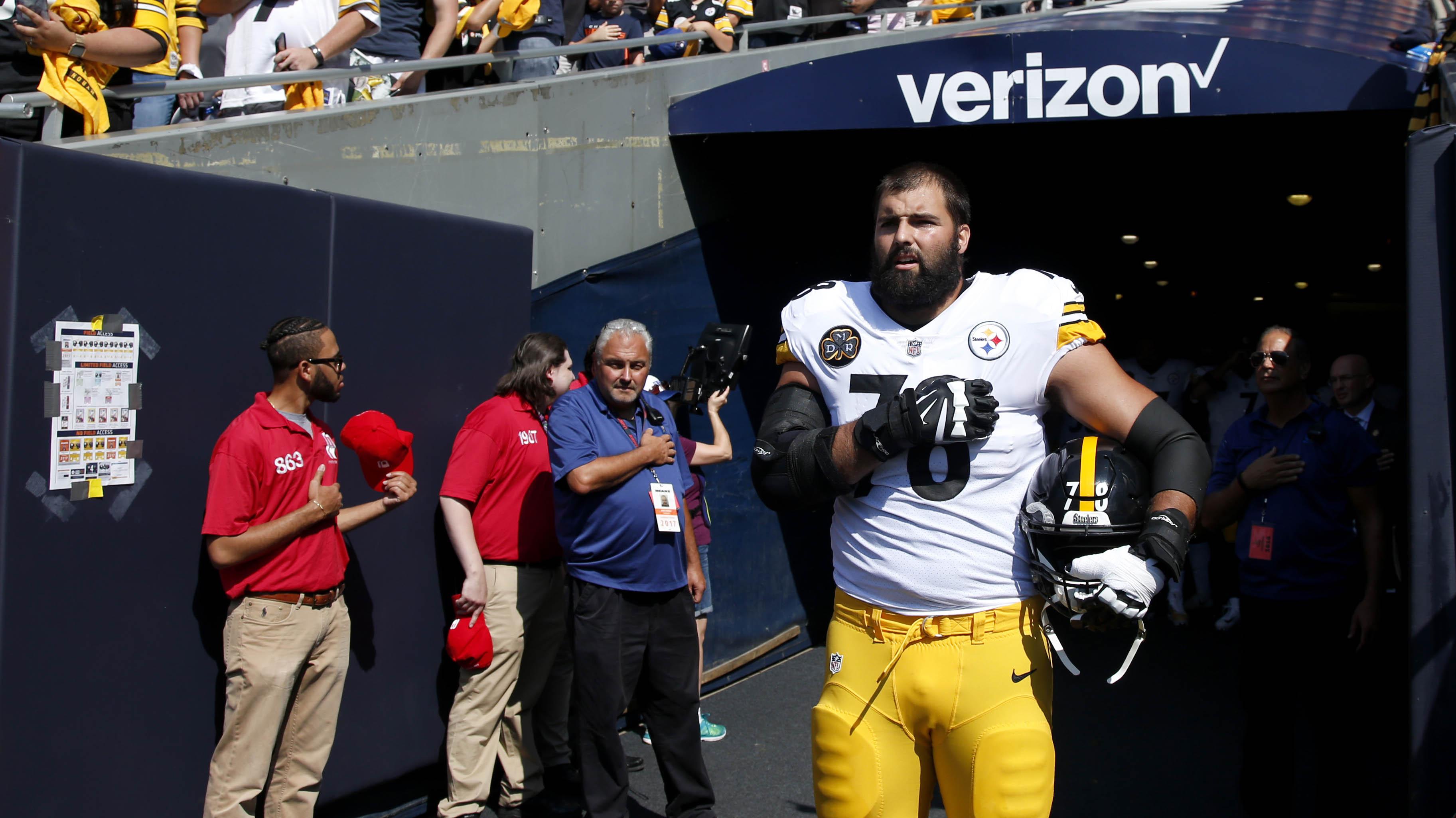 Alejandro Villanueva: Steelers player now has top-selling jersey