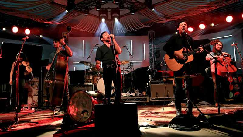 Avett Brothers perform at Music Is Universal presented by Marriott Rewards and Universal Music Group, during SXSW at the JW Marriott Austin on March 16, 2016 in Austin, Texas (Photo by Christopher Polk/Getty Images for Universal Music)