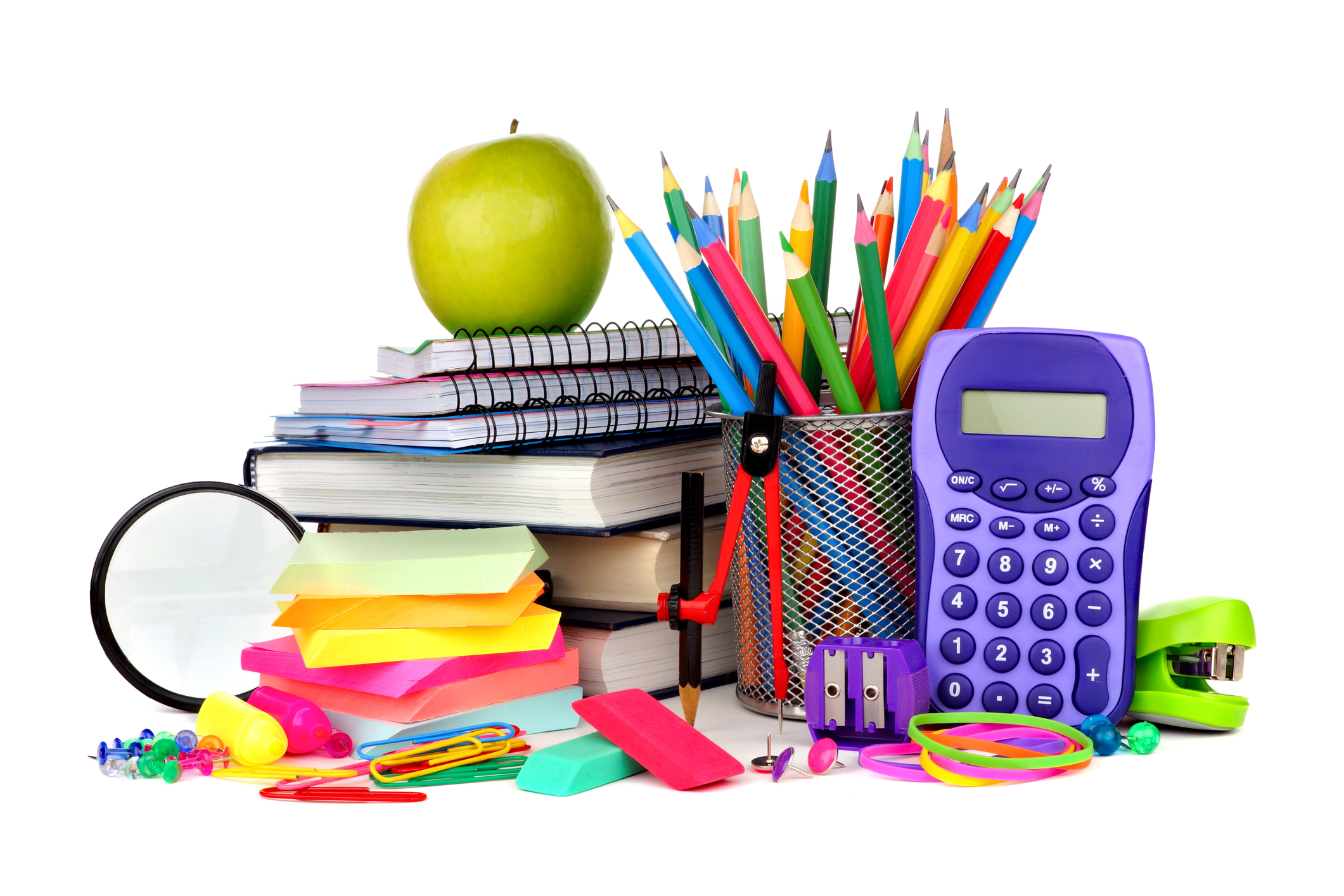 School supplies (Stock photo/Getty Images)
