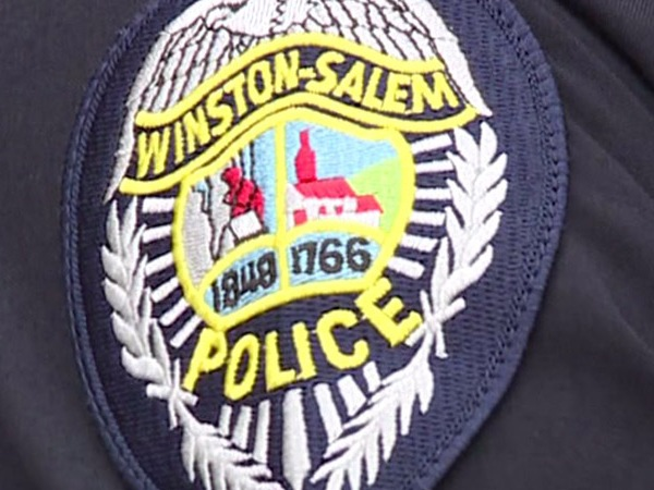 Winston-Salem Police Department patch on uniform. (WGHP file photo)