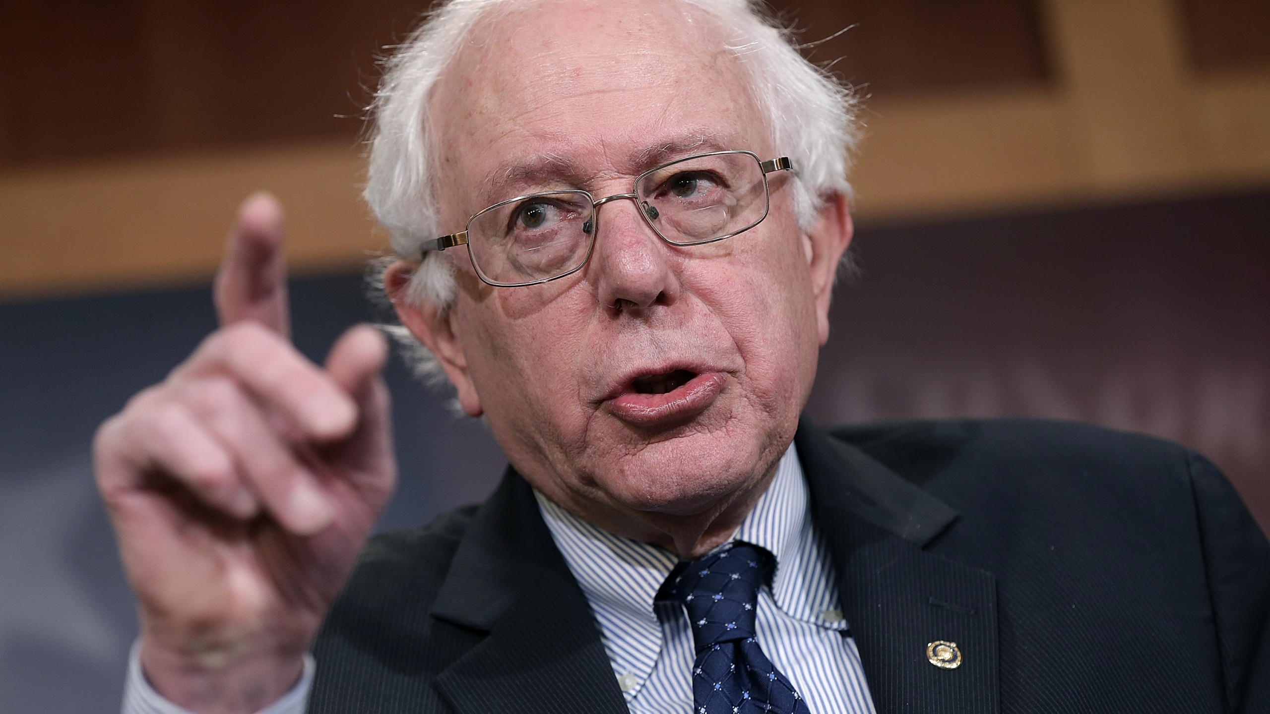 Bernie Sanders (Photo by Win McNamee/Getty Images)