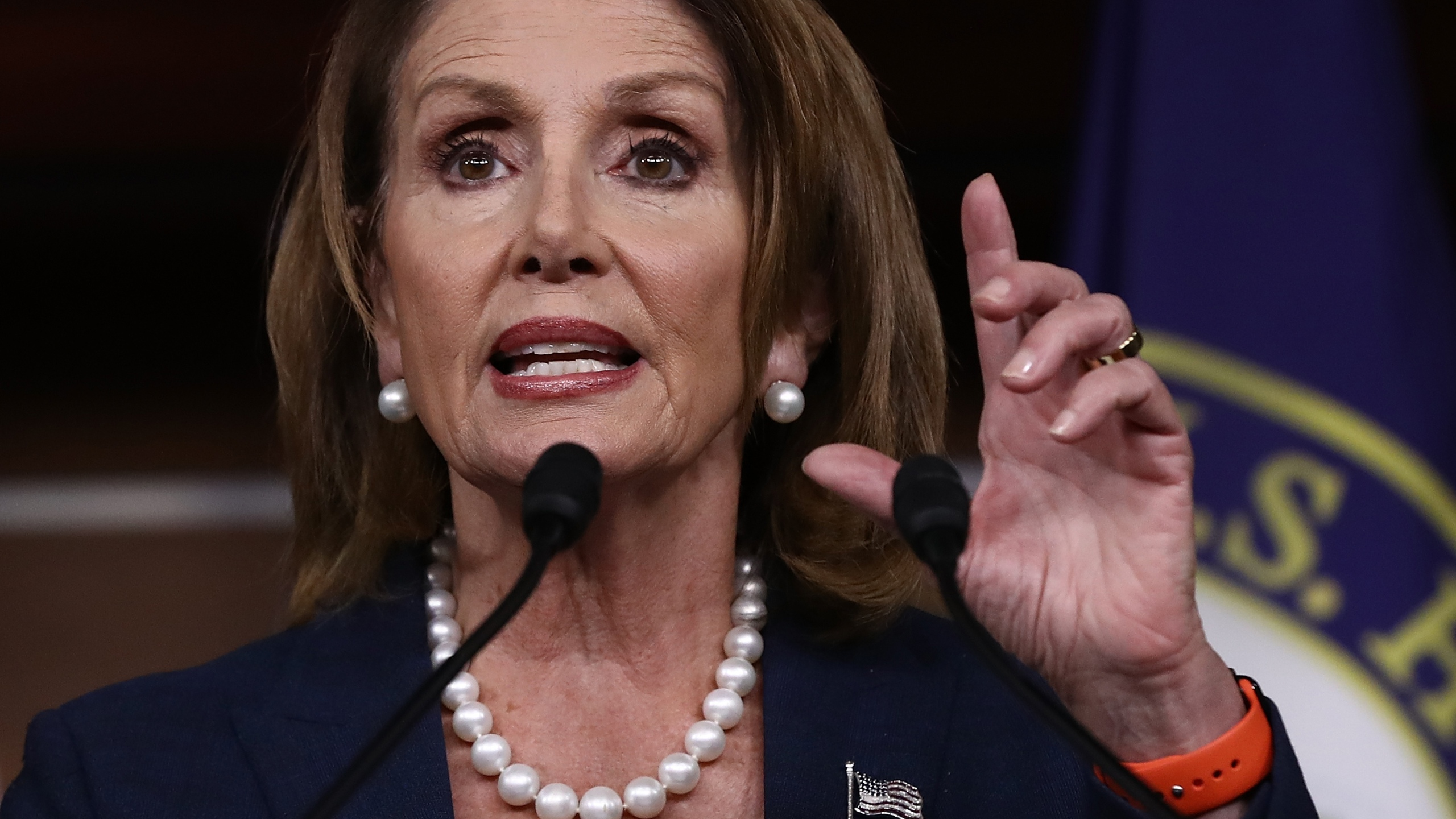 Nancy Pelosi (Photo by Win McNamee/Getty Images)