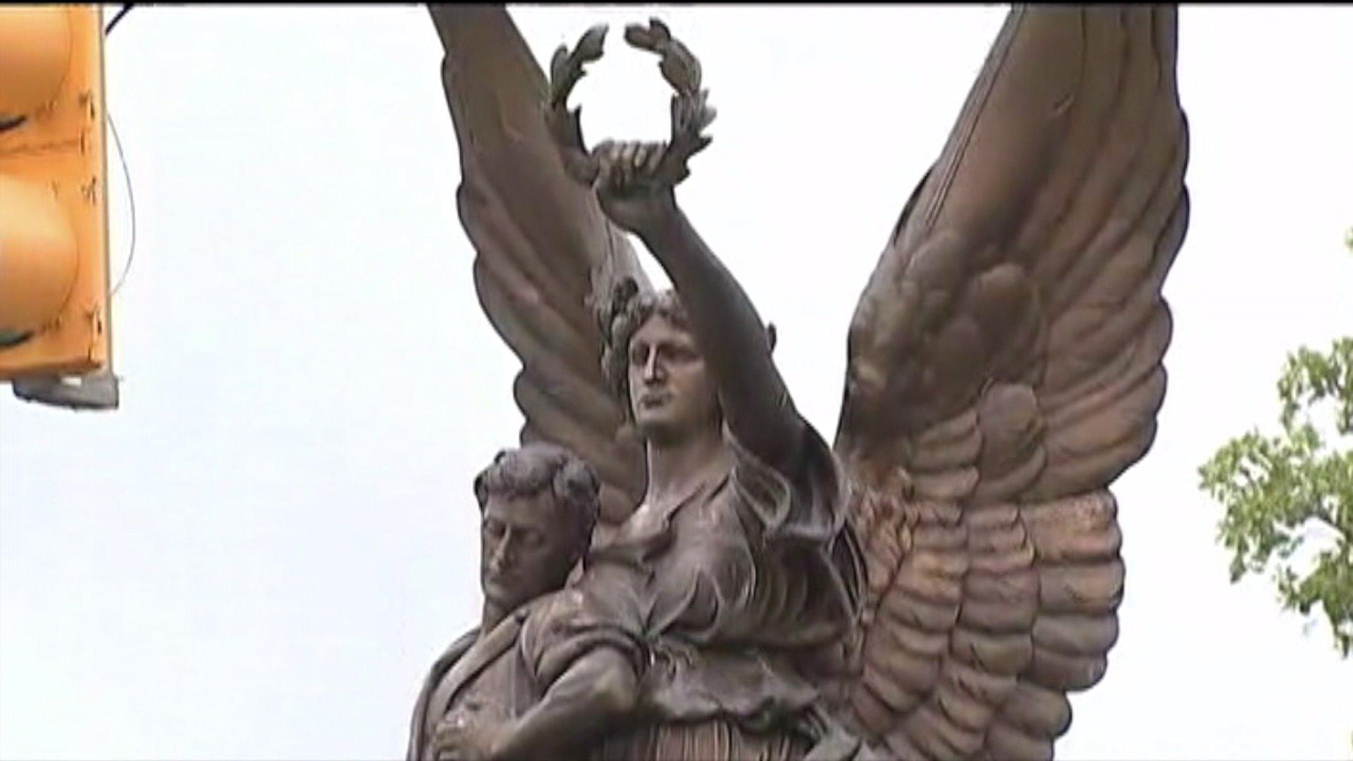Fame, Salisbury Confederate monument
