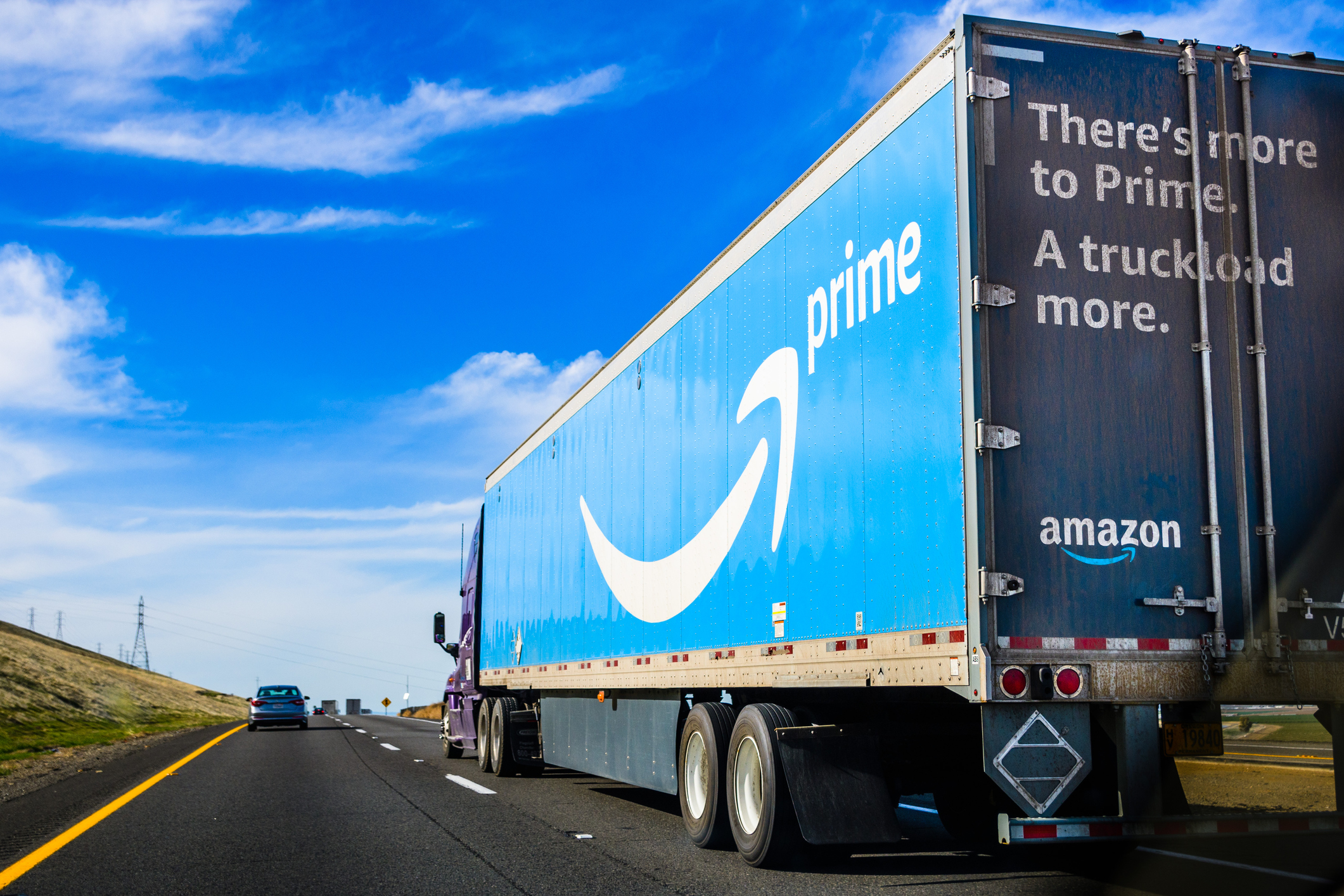 Amazon truck (Getty Images)