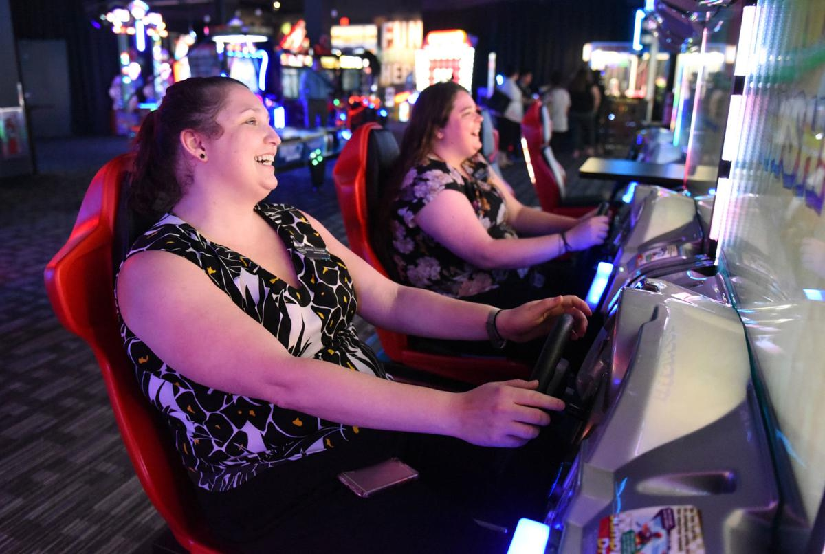 Dave & Buster's opens Monday in Hanes Mall. The business had a soft opening Wednesday. (Winston-Salem Journal photo)