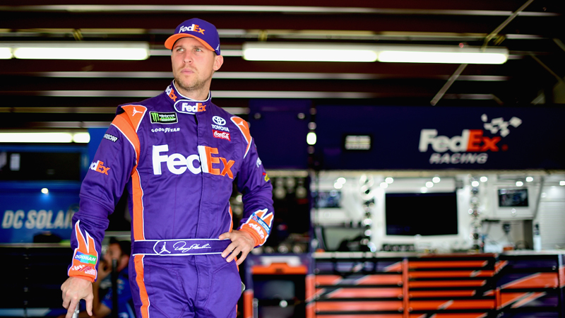 Denny Hamlin (Jared C. Tilton/Getty Images)