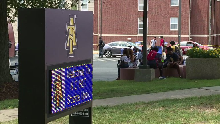 North Carolina A&T State University (WGHP file photo)