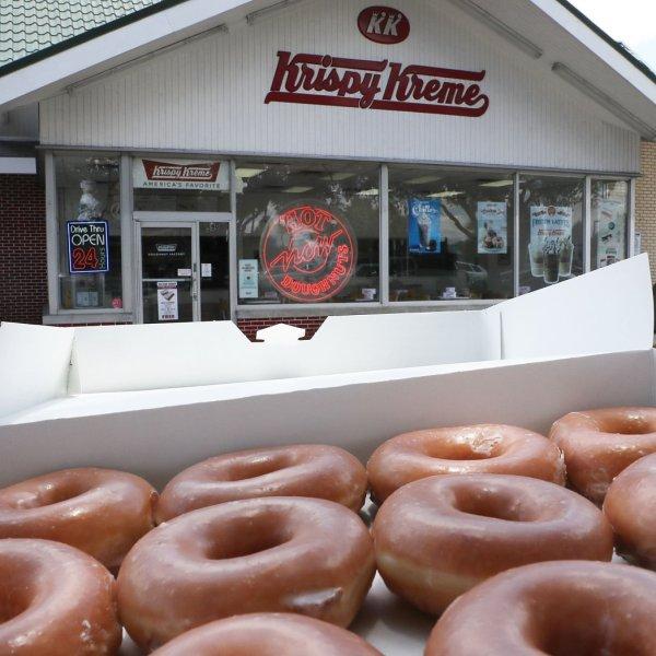 Krispy Kreme (Getty Images)