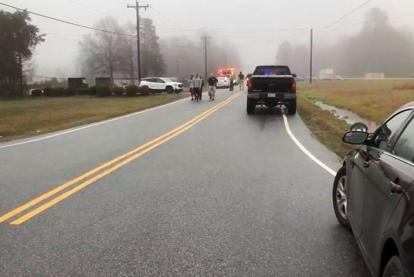 A deputy was hit by an SUV while responding to a 'disturbance' near Thomasville.