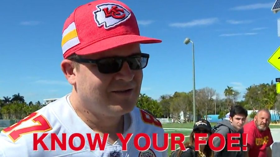 Know your foe: Chiefs, 49ers fans quizzed ahead of Super Bowl