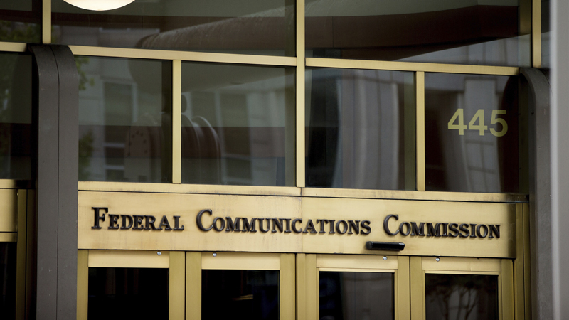 The Federal Communications Commission building in Washington. (AP Photo/Andrew Harnik, File)
