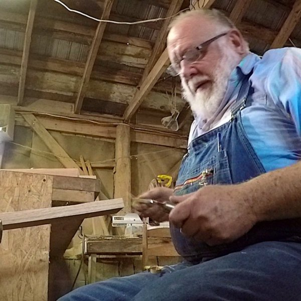 Wilkes County craftsman Lyle Wheeler creates chairs that are built to last