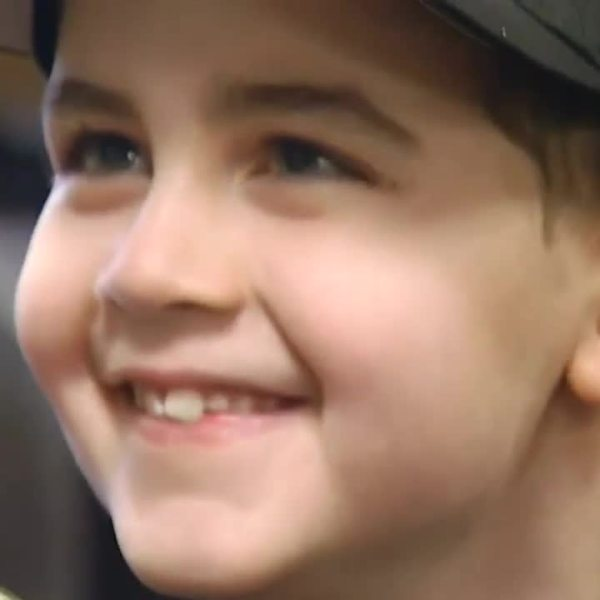 8-year-old boy battling rare terminal cancer is made police chief for a day
