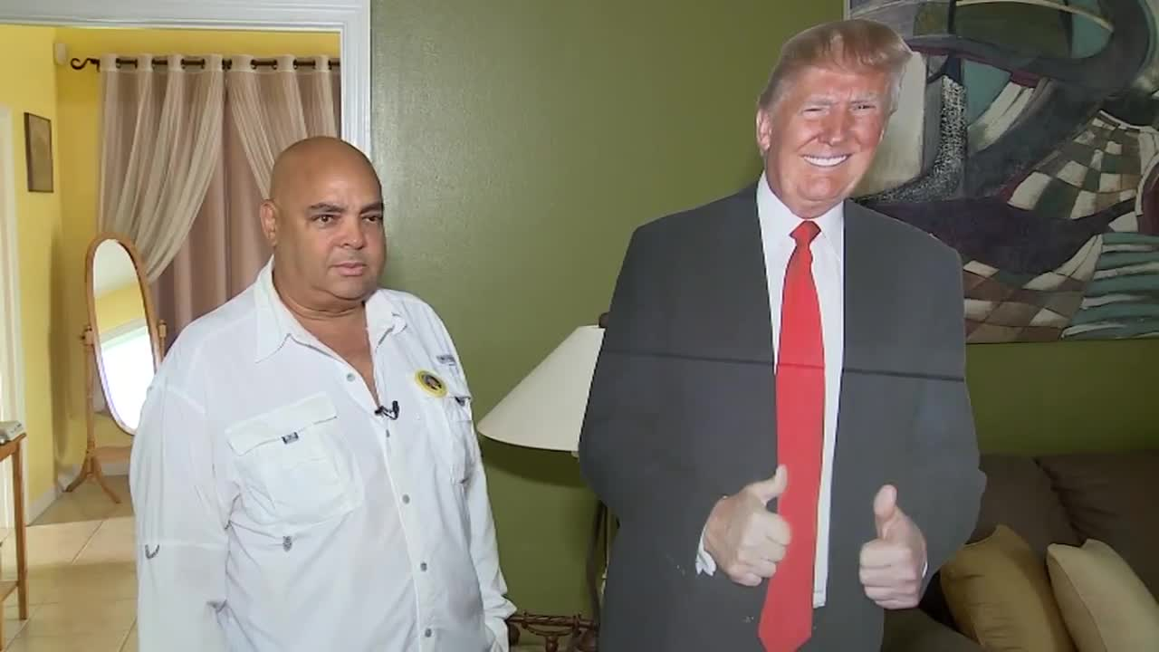 """Too much"": Florida man not allowed to bring cutout of Trump to dialysis appointment"