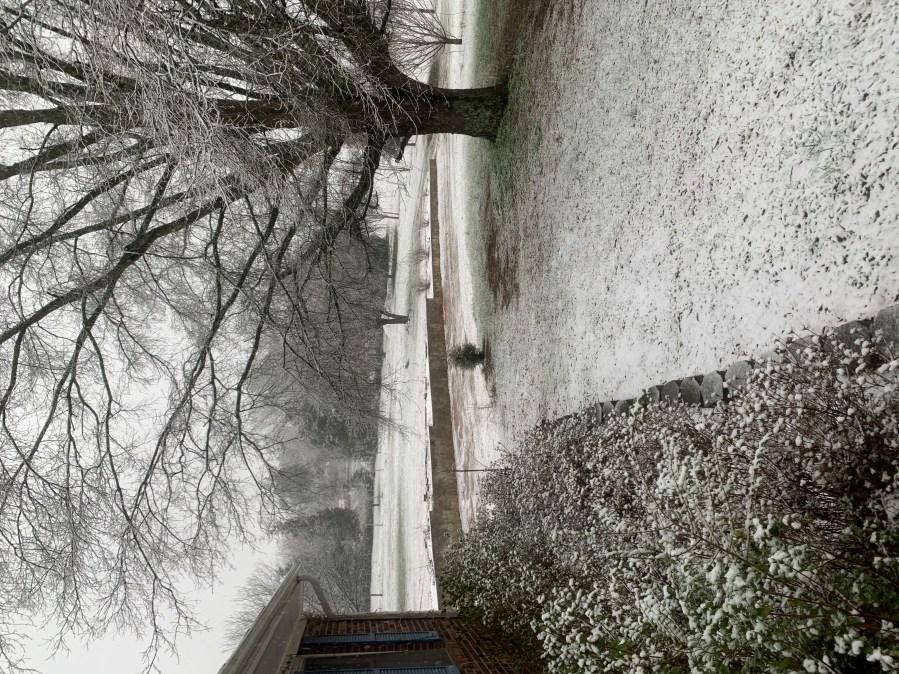 Churchland 1st snowfall