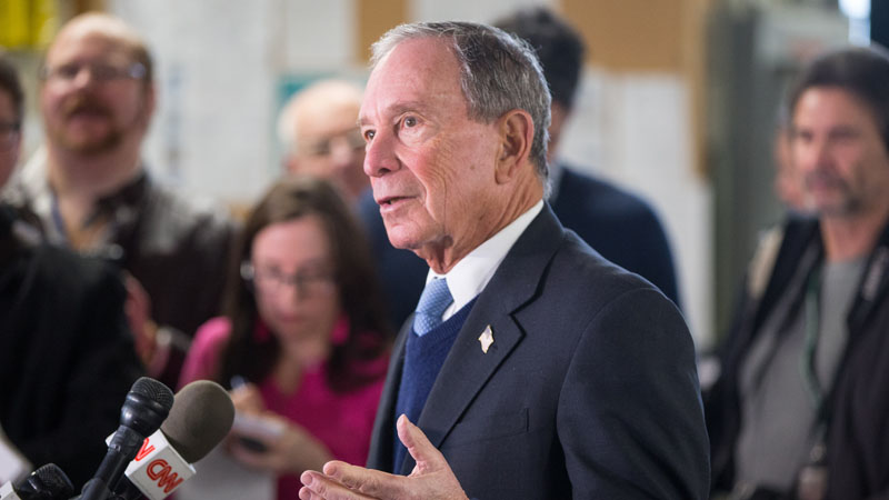 Mike Bloomberg (Photo by Scott Eisen/Getty Images)