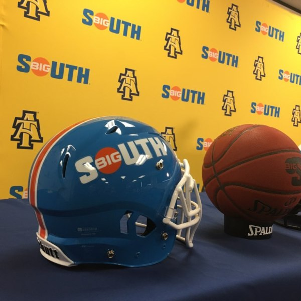 North Carolina A&T State University announces plan to become full member of Big South Conference.