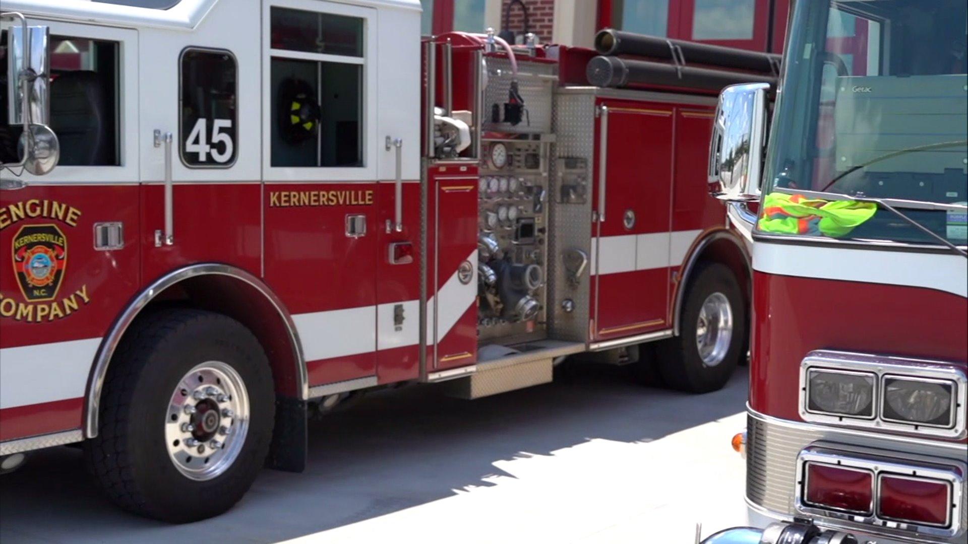 Kernersville Fire Department trucks (WGHP file photo)