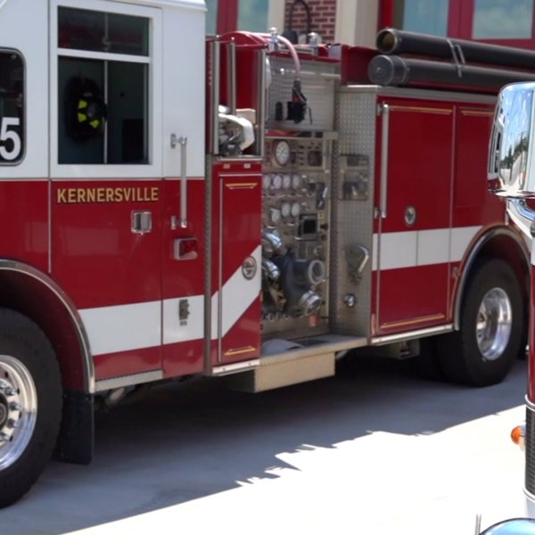 Kernersville Fire Department trucks (WGHP file photo)