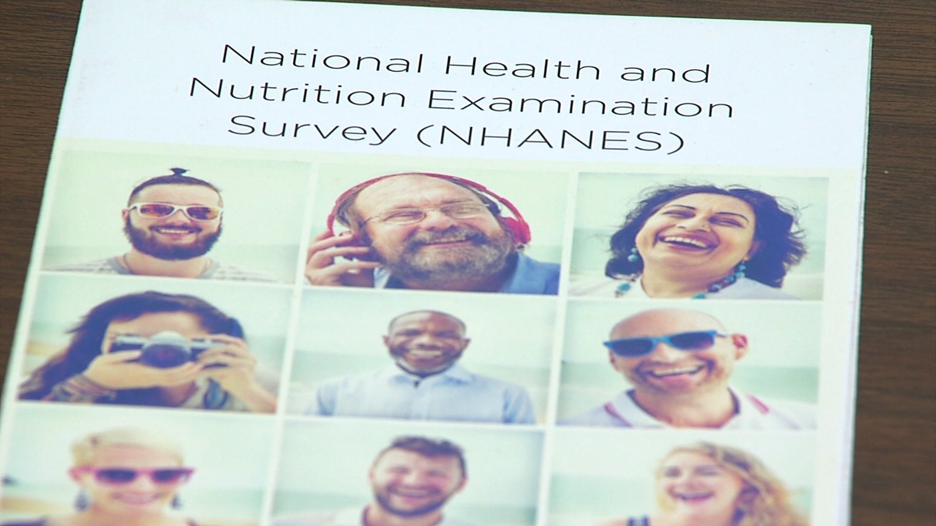 An important survey is being done right now in Davidson County that impacts what we know about people's health nationwide. It's called NHANES, or the National Health and Nutrition Examination Survey, and the CDC does it every year.