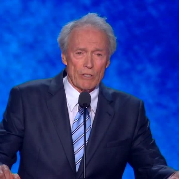 Clint Eastwood praises Bloomberg, criticizes Trump