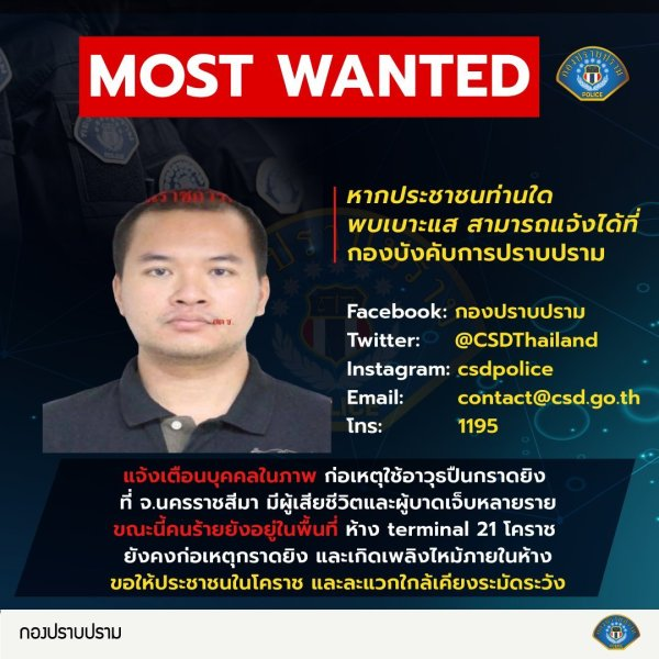 Suspected Thailand Shooter