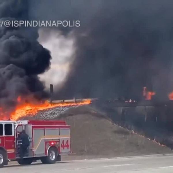 New mother rescues semi-truck driver from tanker explosion