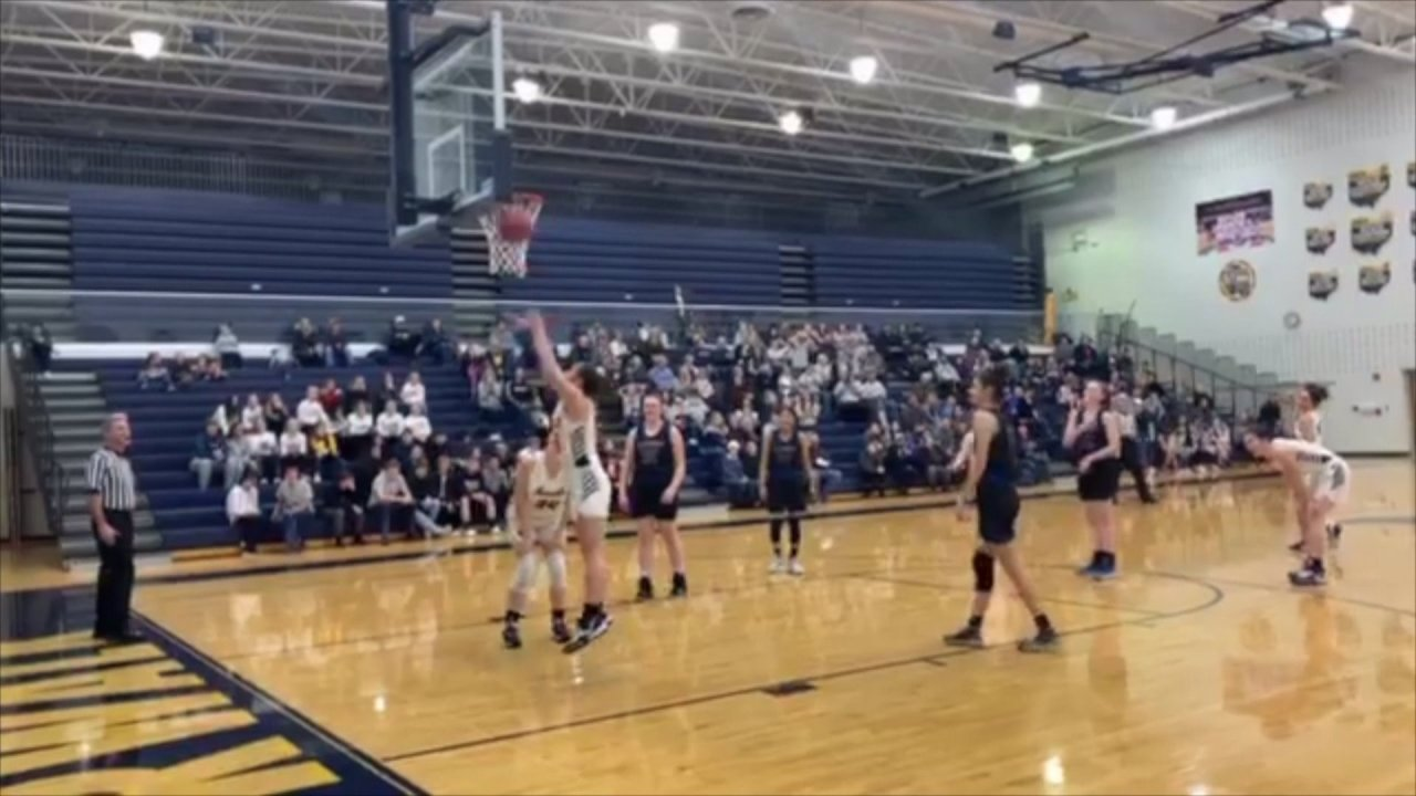 Team allows concussed opponent to score first basket on her senior night