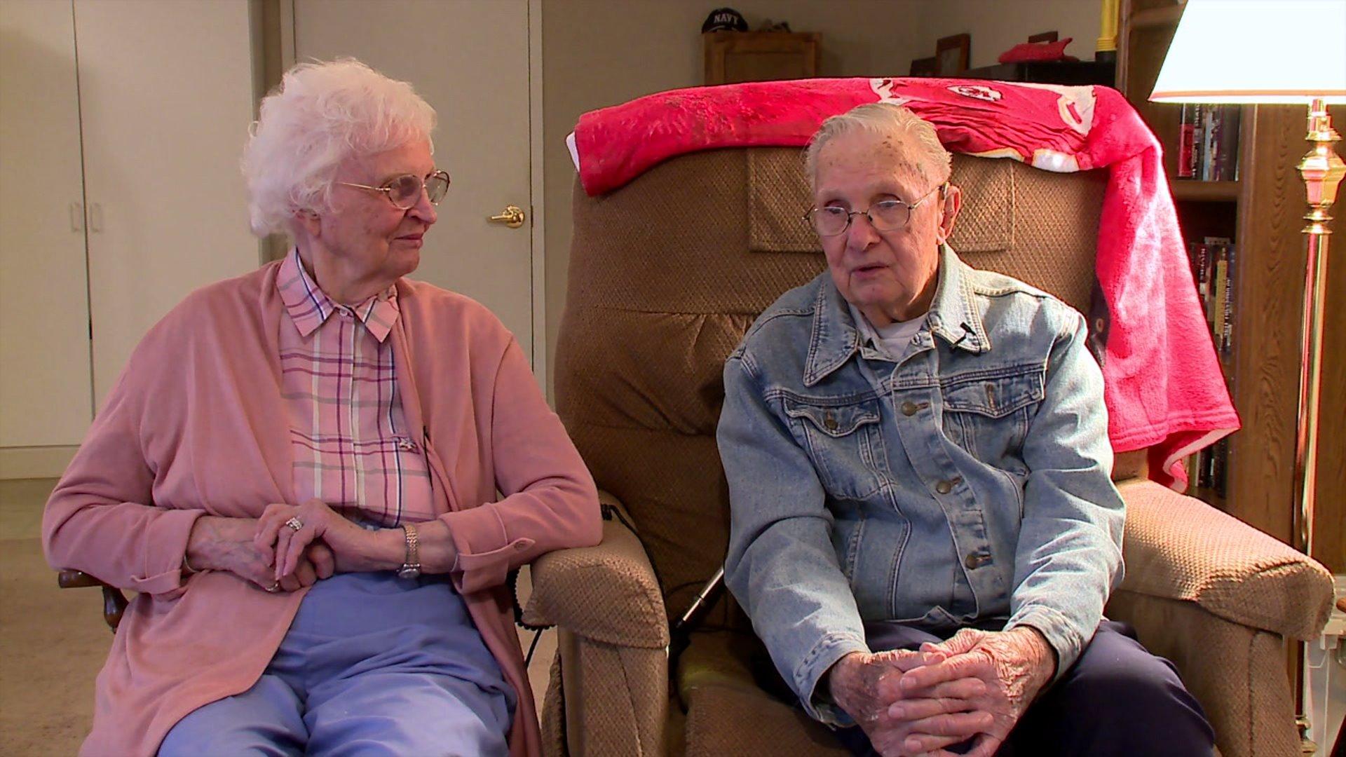 Valentine's Day marks Russel and Carol Brandsma's 75th wedding anniversary.