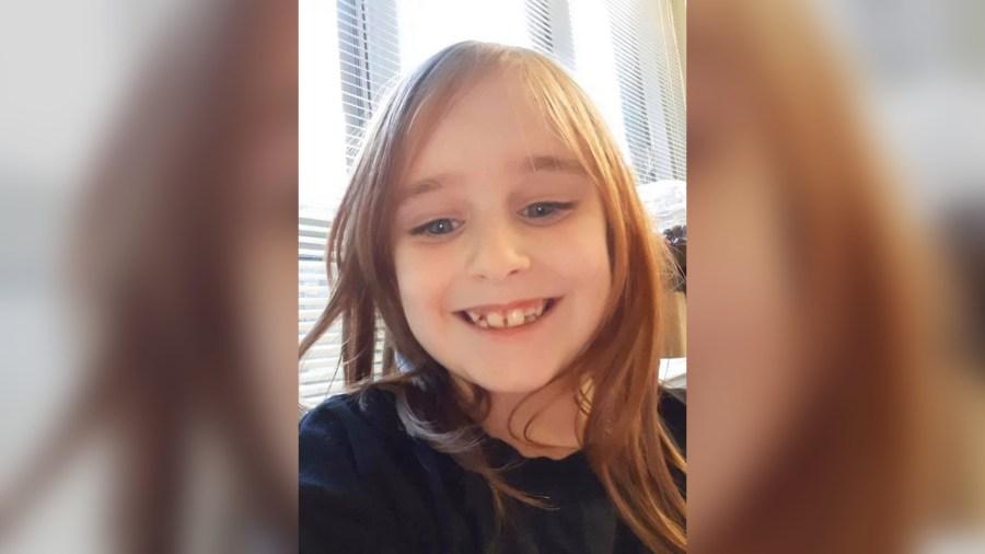 6-year old girl Faye Marie Swetlik
