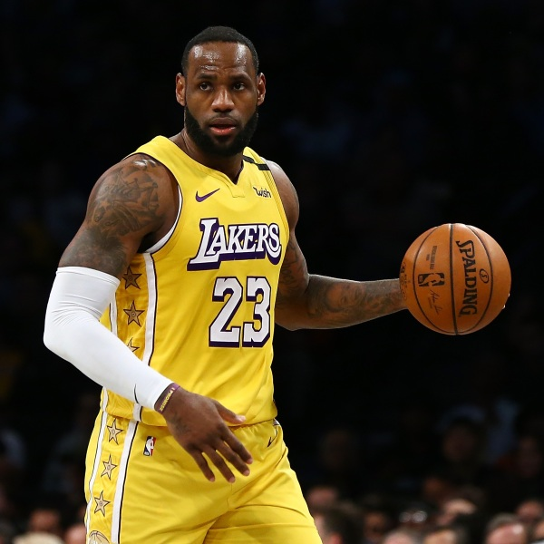 LeBron James (Photo by Mike Stobe/Getty Images)